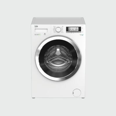 BEKO WMY-91443 LB1 Fehér Elöltöltős mosógép LCD kijelzővel 60cm mély 9kg A+++