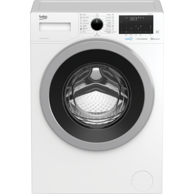 BEKO WUE 8736 XST Elöltöltős inverteres mosógép LCD kijelzővel 8kg A+++-10%