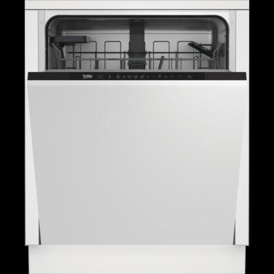 BEKO DIN -36421 Teljesen beépíthető mosogatógép belső kezelőfelülettel 14 teríték