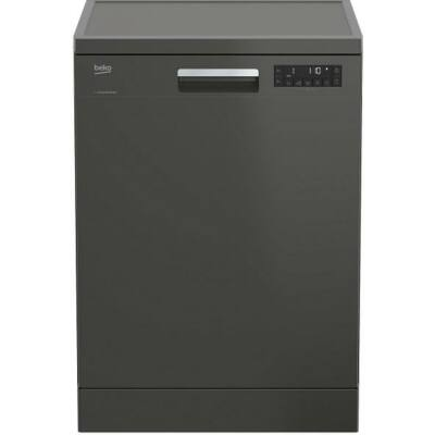 BEKO DFN 28422 G Manhattan Grey mosogatógép LCD kijelzővel  60cm 13 teríték A++