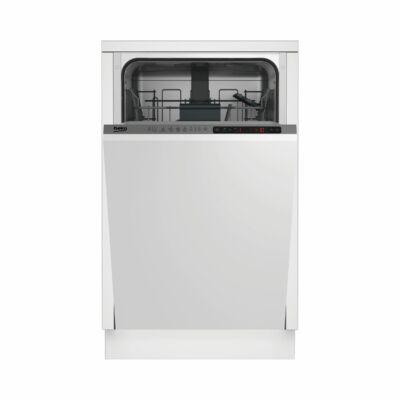 BEKO DIS-26012 teljesen beépíthető mosogatógép 45cm 10 teríték A+