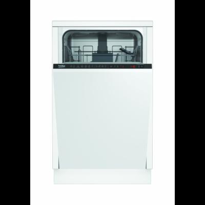 BEKO DIS-26021 beépíthető integrált 10 terítékes mosogatógép