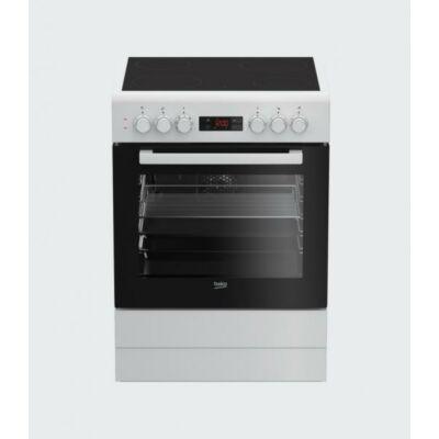 BEKO FSM-67300 GWS Fehér Kerámialapos Villanytűzhely 60cm