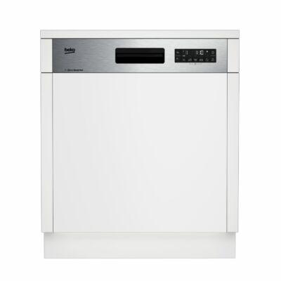 Beko DSN26420X Félig beépíthető mosogatógép külső kijelzővel 13 terítékes A++