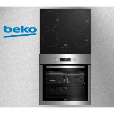 Beko BIE-26300X+HII-64400AT  Beépíthető elektromos sütő-indukciós főzőlap szett