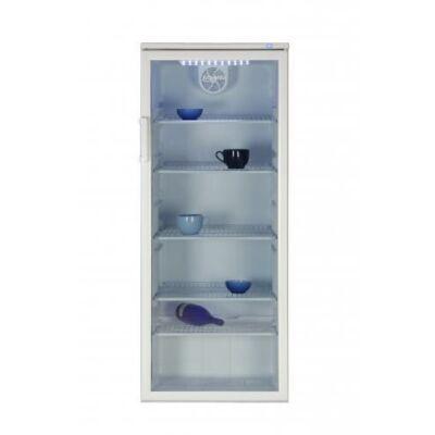 Beko WSA-29000 Fehér egyajtós hűtőszekrény üvegajtóval fagyasztó nélkül 282L A
