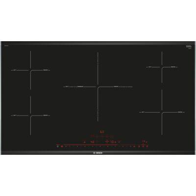 Bosch PPIV975DC1E Fekete Indukciós üvegkerámia főzőlap PerfectFry szenzorral 90cm