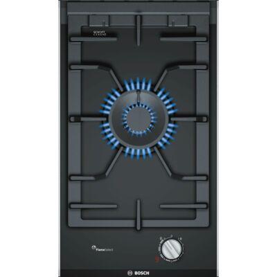 Bosch PRA3A6D70 Fekete üvegkerámia felületű dominó WOK főzőlap kijelzővel 30cm
