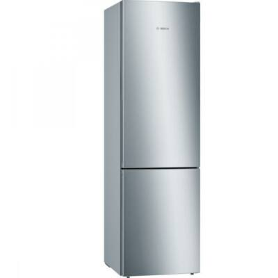 Bosch KGE394LCA Kombinált inox hűtő, 249+88 literes, 201 cm magas, A+++