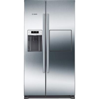 Bosch KAG90AI20 Inox Side by side hűtőszekrény jégadagolóval NO FROST 359/163L A+