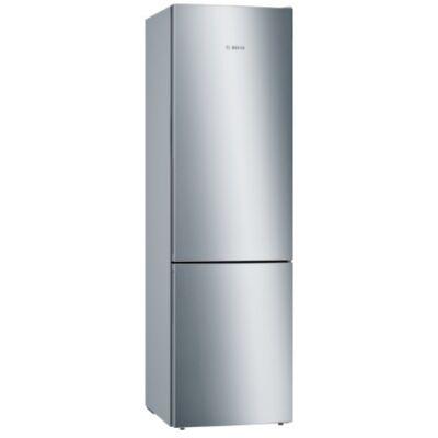 Bosch KGE392L4A Inox alulfagyasztós kombinált hűtőszekrény 249/88L A+++