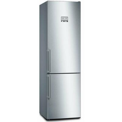 BOSCH KGN39AI35 Inox alulfagyasztós kombinált hűtő NO FROST 279/87L A++