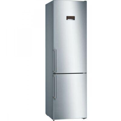Bosch KGN39XI38 Inox alulfagyasztós kombinált hűtőszekrény NO FROST 279/87L A++