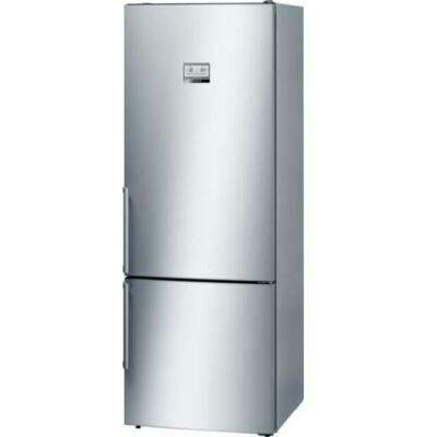BOSCH KGN56AI30 Inox alulfagyasztós kombinált hűtő kijelzővel NO FROST 400/105L A++