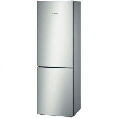 Bosch KGV36VW32 Inox alulfagyasztós kombinált hűtőszekrény 213/94L A++