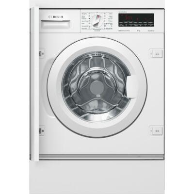 Bosch WIW28540EU Fehér beépíthető elöltöltős mosógép nagy kijelzővel 8kg A+++