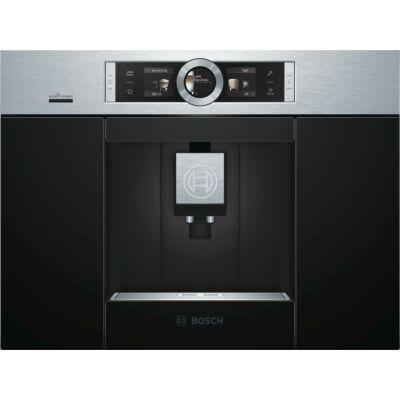 Bosch CTL636ES6 Inox beépíthető automata kávéfőző TFT kijelzővel Home Connect