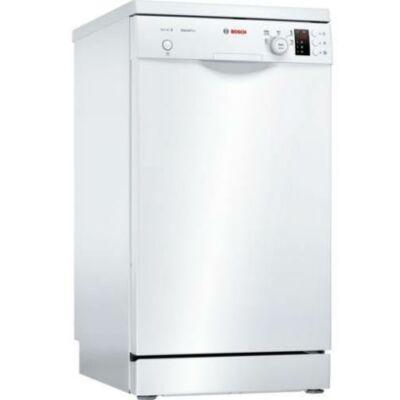 Bosch SPS25CW04E fehér mosogatógép extra szárítással kijelzővel 45cm széles 9 teríték A+