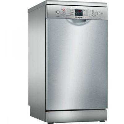 Bosch SPS46II07E Inox mosogatógép extra szárítással kijelzővel 45cm széles 9 teríték A++