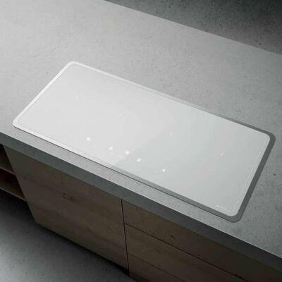 Lien Diamond Frame 904 WH Fehér 4 bridge zónás Indukciós főzőlap fém kerettel  Wifi 90cm