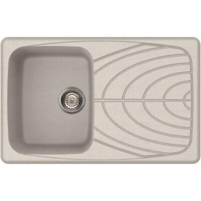 Elleci Master 300 G52 Bianco Pietra színű granitek gránit mosogatótálca