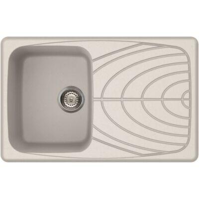 Elleci Master 300 G68 Bianco színű granitek gránit mosogatótálca