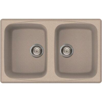 Elleci Master 350 G51 Avena színű granitek gránit mosogatótálca