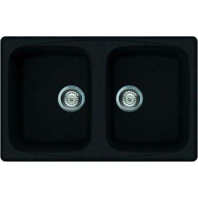 Elleci Master 350 G59 Antracite színű granitek gránit mosogatótálca