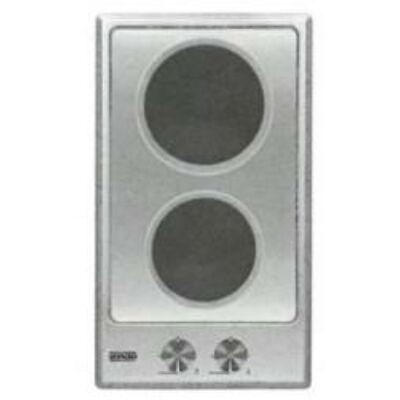 EVIDO DOMINO-E 32X beépíthető inox dominó elektromos főzőlap 2 főzőzónával