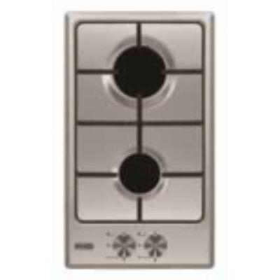 EVIDO DOMINO-G 32X beépíthető Inox domino gázfőzőlap 2 főzőzónával 30cm