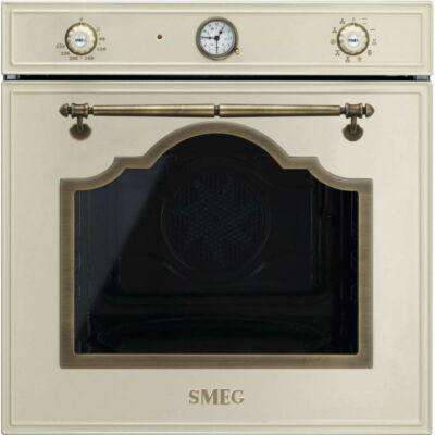 Smeg SF750PO beépíthető rusztikus bézs sütő
