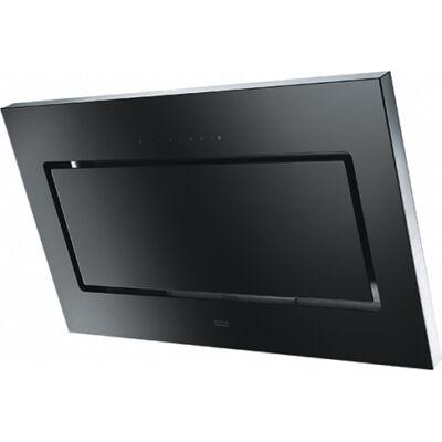 FRANKE FMYPL 906 BK Fekete döntött üvegernyős fali páraelszívó szénszűrővel 90cm A+