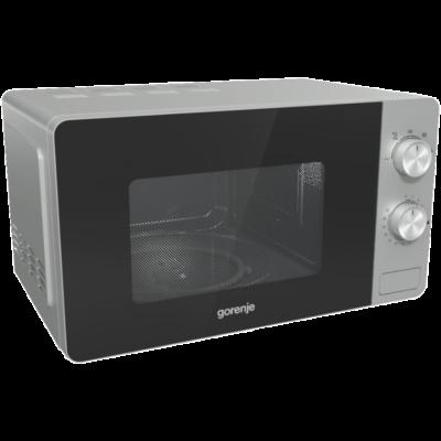GORENJE MO20E1S Ezüst mikrohullámú sütő AquaClean öntisztítás 20L 800W