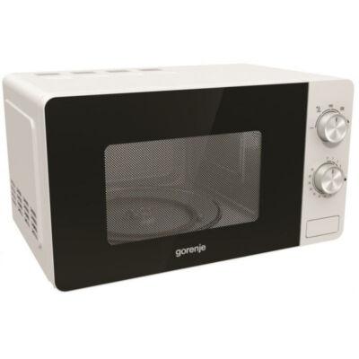 GORENJE MO17E1W Fehér mikrohullámú sütő AquaClean öntisztítás 17 L 700W