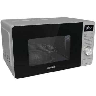 GORENJE MO20A4X Ezüst grilles mikrohullámú sütő kijelzővel AquaClean 20L 800W