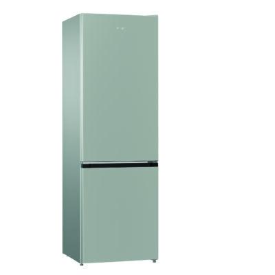 GorenjeNRK611PS4 Ezüst alulfagyasztós  kombinált hűtőszekrény NO FROST 222/85L A+