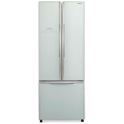 HITACHI WB480PRU2.GS 3 ajtós Side by Side ezüst üveg kombinált hűtőszekrény 298/84L A+