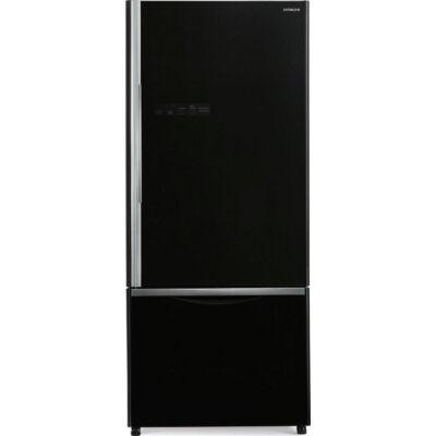 HITACHI B500PRU6.GBK Fekete üveg kombinált hűtőszekrény