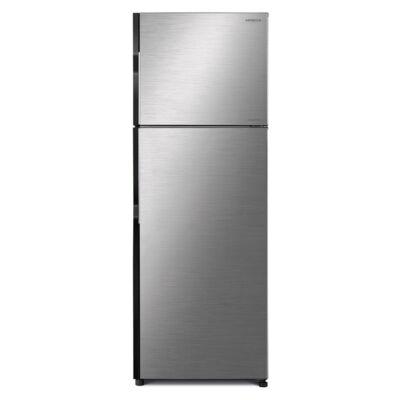 HITACHI H350PRU7.BSL Inverteres inox felülfagyasztós hűtőszekrény No Frost 190/70L A+