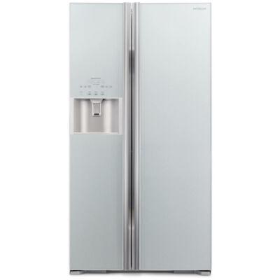 HITACHI S700GPRU2.GS Side by Side ezüst üveg kombinált hűtőszekrény 377/212L A++