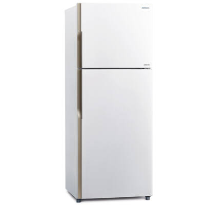 HITACHI H240PRU4.PWH Inverteres fehér felülfagyasztós hűtőszekrény No Frost 152/51L A+