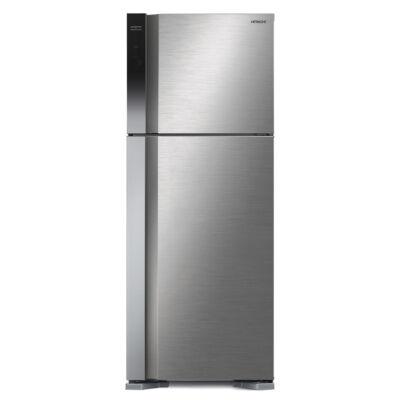 HITACHI V540PRU7.BSL felül fagyasztós inox hatású hűtőszekrény NoFrost 333/117L A++