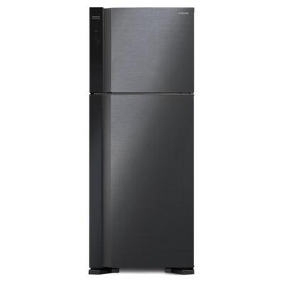HITACHI V610PRU7.BBK  felül fagyasztós fekete hűtőszekrény NoFrost 365/145L A++