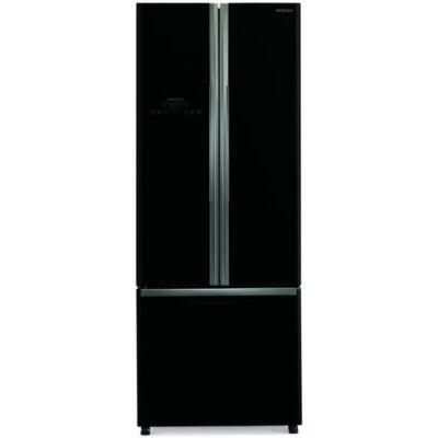 HITACHI WB550PRU2.GBK Side by Side fekete üveg hűtőszekrény fagyasztóval 335/94L A+