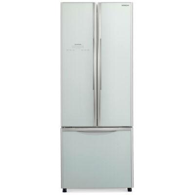 HITACHI WB550PRU2.GS Side by Side ezüst üveg hűtőszekrény fagyasztóval NoFrost 335/94L A+
