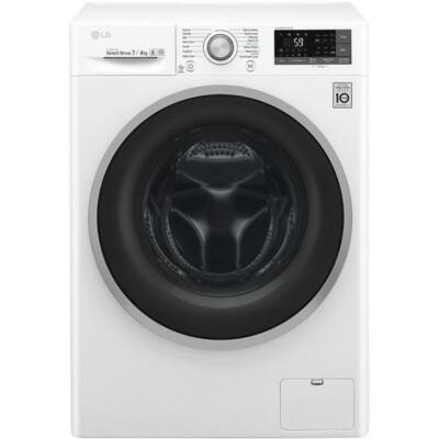 LG F4J6TY0W elöltöltős mosógép