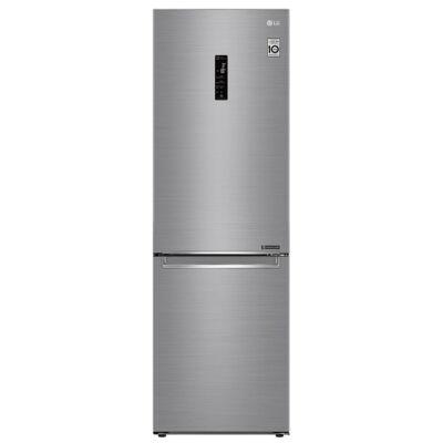 LG GBB71PZDZN Inox kombinált alulfagyasztós hűtő kijelzővel No Frost wifi 234/107L A++