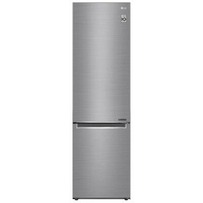 LG GBB72PZEZN Digitális alulfagyasztós kombinált inox hűtőszekrény NoFrost 277/107L A++