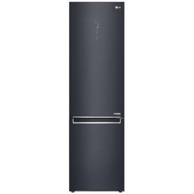 LG GBB92MCAXP matt fekete kombinált hűtőszekrény kijelzővel No Frost 277/107L A+++-10%