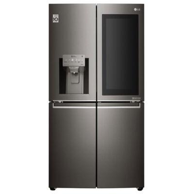 LG GMX936SBHV Side by Side fekete hűtőszekrény vízadagolóval NoFrost A+